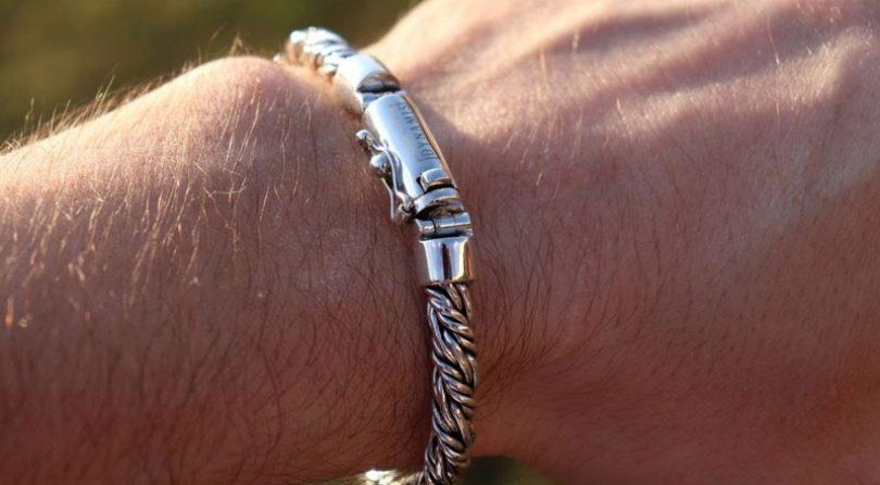 Brățări de argint pentru bărbați – Se potrivesc? Poartă bărbații brățări din argint sterlin?